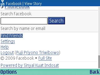 Facebook Indosat