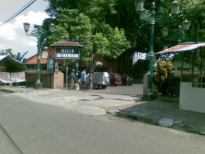 Pintu Masuk Komplek Makam Raja Mataram