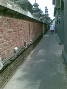 Tembok Pagar Masjid Besar Mataram