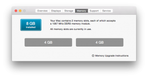RAM Laptop Setelah diupgrade