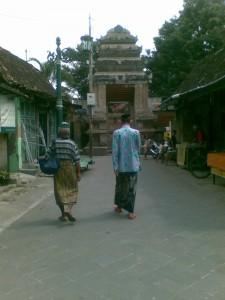 Gapura Masjid Besar Mataram