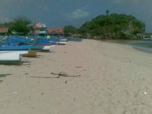 Perahu Nelayan Pantai Drini