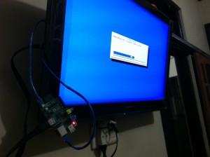 Proses Installasi Raspbmc